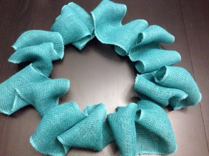 Burlap & Tulle Wreath | Studio j Creations